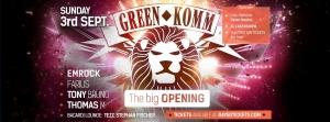 Green Komm Season Opening 2017