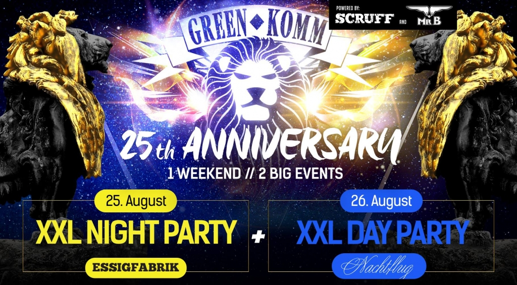 Green Komm 25 Years Anniversary